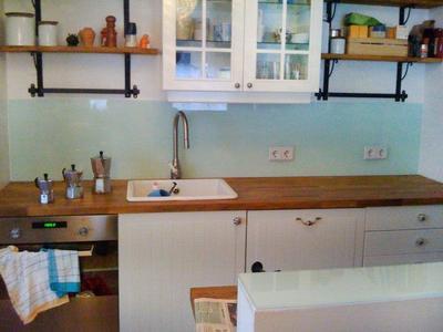 Küchenrückwände bei der Glaserei Kador