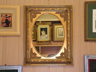 Spiegel bei der Glaserei Kador